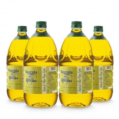 Aceite de oliva negrala virgen extra - 2 litros (caja de 4) | Negrala de Ablitas