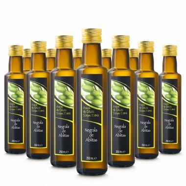 Aceite de oliva negrala virgen extra - 250ml (caja de 12) | Negrala de Ablitas