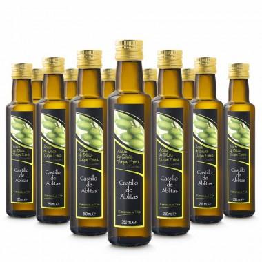 Aceite de oliva empeltre virgen extra - 250ml (caja de 12) | Castillo de Ablitas