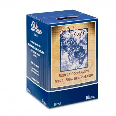Vino tinto de Navarra - Caja de 10 litros | Castillo de Ablitas